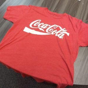 Coca Cola Shirts - COCA-COLA T-SHIRT - pop logo tee shirt coca cola